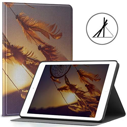 Funda Protectora para iPad de 9.7 Pulgadas Atrapasueños en Windy Day Fit 2018/2017 Funda para Tableta iPad 9.7 / 6ta generación para iPad 9.7 También se Ajusta a iPad Air 2 / iPad Air Auto W