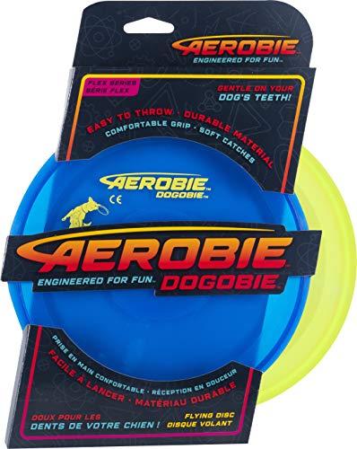 Aerobie - 6046416 - Dogobie, Frisbee mit Durchmesser 20cm, farblich sortiert - Maul Hund Weiches
