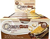 Quest Nutrition 60 g S'Mores Protein Bar - Pack of 12