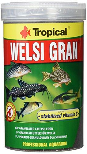 Tropical Welsi Gran Granulat für Bodenfressende Zierfische, 1er Pack (1 x 1 l) -