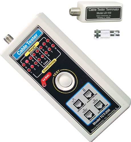 Elenco TCT255K Multi-Network Cable Tester (Kit requires assembly) -