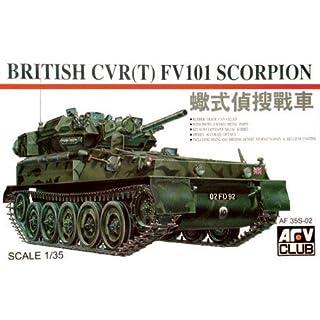 British FV-101 Scorpion 1-35 AVF Club by AFV Club