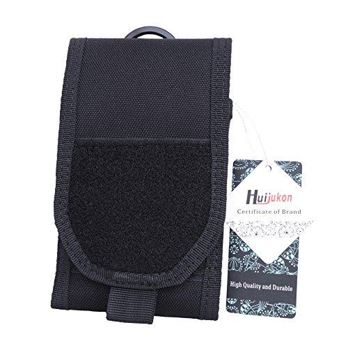 huijukon MOLLE TACTICAL Handy Pouch Large Smartphone Tasche Gürtel Holster für 14,7cm iPhone X iPhone 8Plus 16cm Galaxy Note 8S8Plus Moto X Nexus 6