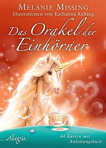 Das Orakel der Einhörner: 44 Karten mit 160 S. Begleitbuch - Einhorn-karten