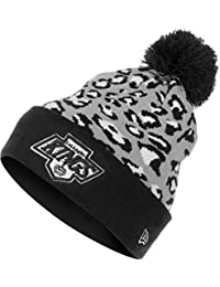 New Era - Bonnet Homme Los Angeles Kings Team Leopard 2 - Black / Grey / White