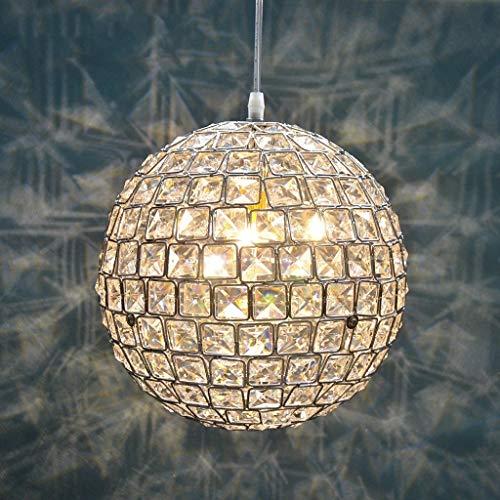 zdw Beleuchtet Kronleuchter Beleuchtete Kugel Kristall Kronleuchter, einfache Salon Schlafzimmer Lampe - Bar Innenbeleuchtung Kronleuchter,40 cm