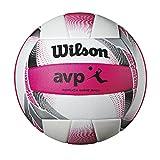 WILSON AVP II Replik Beach-Volleyball weiß/pink