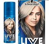 Schwarzkopf Live Farbe Spray Granit grau 120ml One Wash