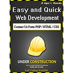 Contact Us Form PHP / HTML / CSS : Full Coding Available (English Edition)