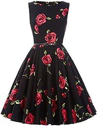 50s Rockabilly Kleid Festliches Kleid Partykleider Cocktailkleider GD6086 New