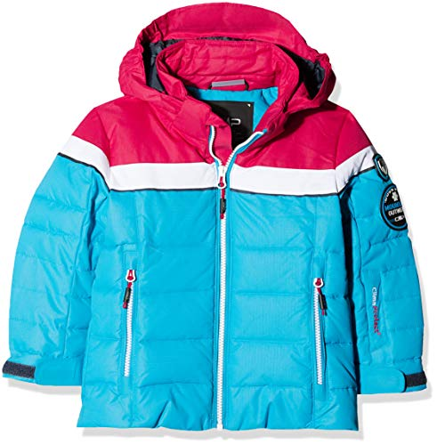 CMP Mädchen Wattierte 3000 Ripstop Skijacke Jacke, Blue Jewel, 152