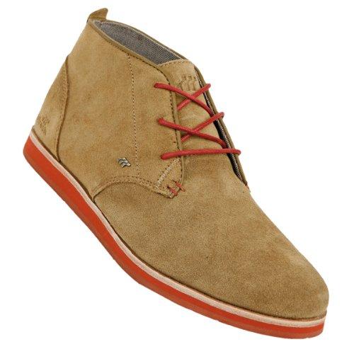 Boxfresh Schuhe Dalston Suede butternut Oliv/Rot