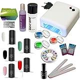 Set di smalti UV LED ATHEN con dispositivo di fotopolimerizzazione UV, set di smalti gel, smalto gel UV LED, smalto UV, vernice UV
