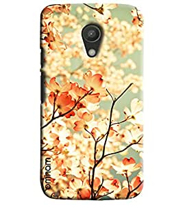 Omnam Tree Leaves With Sun Shadow Effect Printed Designer Back Cover Case For Moto G2