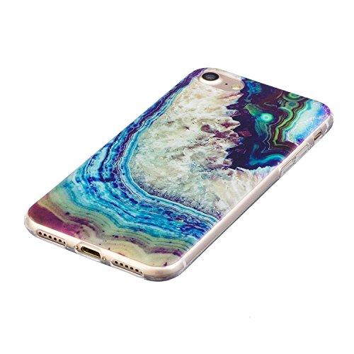 iPhone 7 Custodia, iPhone 7 Cover, iPhone 7 4.7 Custodia Silicone, JAWSEU Angelo Ragazza Disegno Creativo Ultra Sottile Cristallo Trasparente Custodia ...