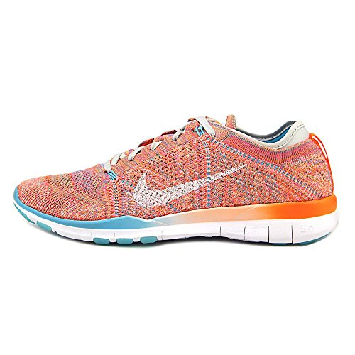 Nike Damen Wmns Free Tr Flyknit Turnschuhe, Talla Naranja (Ttl Orng / White-Gmm Bl-Pr Pltnm)