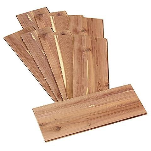 Household Essentials Cedarline Collection 10-Pack Cedar Panels for Closet Storage