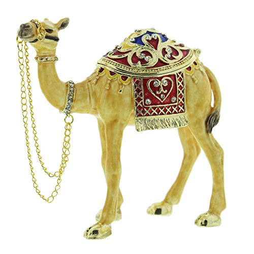 CAMEL Trinket Box / Ornament - New Gift by TREASURED TRINKETS