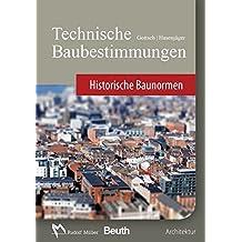 Technische Baubestimmungen - Historische Baunormen - DVD Einzelplatzlizenz: Version 2017