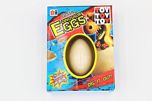 The Toy Company Dinosaurier Eier Schlüpfen Zum Aufstemmen Ausgraben Magisch Spielzeug Ausbrüten Magic Gips (Dig it Out)