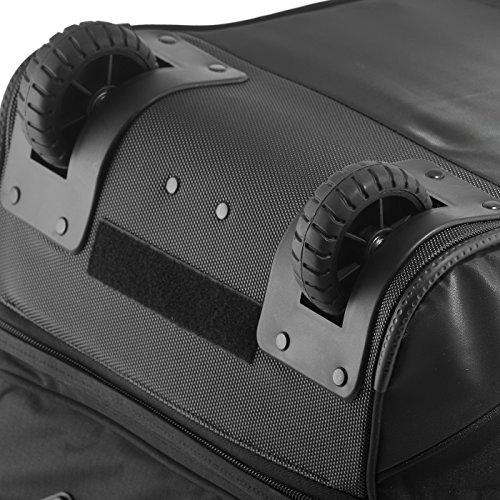 ea50d526040a3 Rada Reisetasche mit Rollen RT 22 Reisetasche in verschiedenen Farben black  points multicolor check