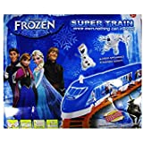 High Speed Frozen Train Set With Tracks And Signals For Kids - By Ray Crush