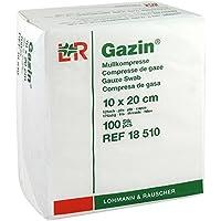 GAZIN OP Kompressen 10x20cm 12fach, 100 St preisvergleich bei billige-tabletten.eu