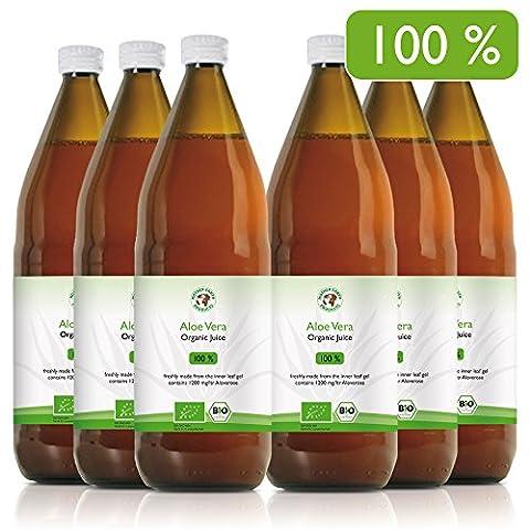 jus d'aloe vera 100% bio, Récoltées à la main