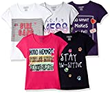 #6: Cherokee Girls' Plain Regular Fit T-Shirt (Pack of 5)