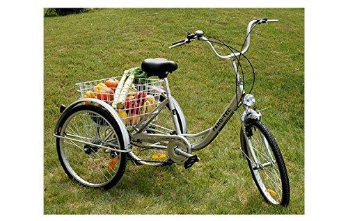 ZNL Fano de Tec Triciclo para adultos Last bicicleta adultos
