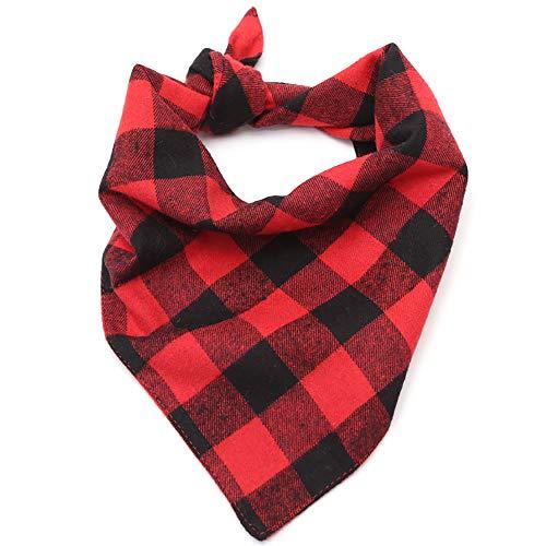 Shanyaid Kopftücher für Hunde Klassisch Komfortabel Bandana Niedlich Atmungsaktiv Hund Halstuch für Bulldog Chihuahua Rottweiler Papillon Größe: S/M