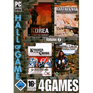 Hall of Games: 4 Games, Vol. 7 (Another War / Knights of the Cross / Korea – Forgotten Conflict / Medieval Lords)