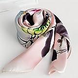 Printed Silk Scarves Women Scarves All Match Silk Scarves Winter Silk , delicate fragrance