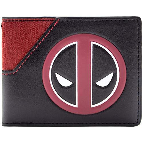 Marvel Deadpool Gesichts-Logo Mehrfarbig Portemonnaie ()