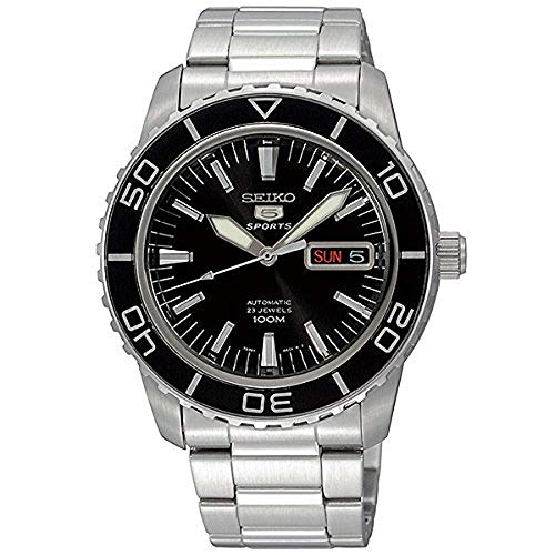 Seiko 5 Sports Automatic Made in Japan Wasserdicht 330 Füße Armbanduhr [snzh55j1]