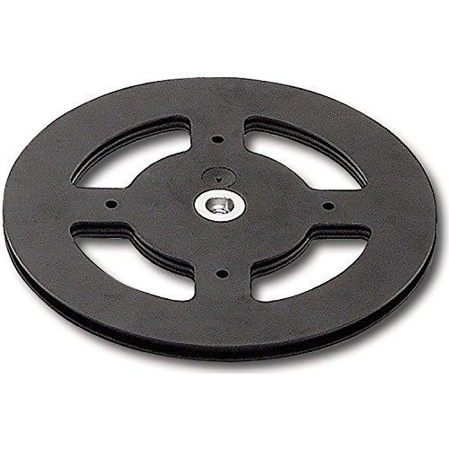 GedoTec® Fernseh-Drehteller mit M8 Gewinde zum Schrauben   Kunststoff schwarz   Drehkranz Tragkraft 80 kg   Drehbeschlag mit Drehplatten Ø 160 mm   Markenqualität für Ihren Wohnbereich