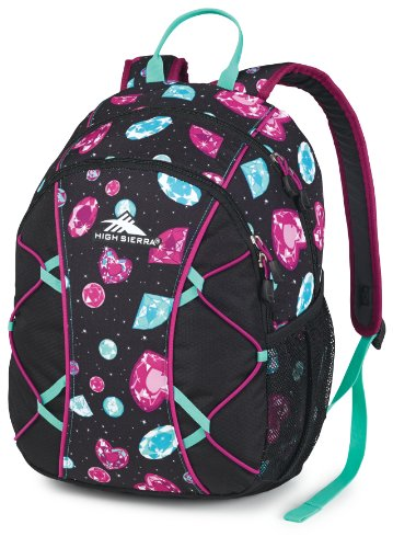 High Sierra Chirp Rucksack, unisex, Bejeweled/Purple Razz (Bejeweled Schwarz)