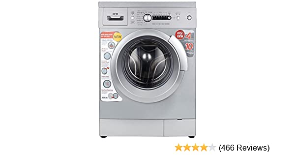 ifb 6 kg fully-automatic front loading washing machine (diva aqua sx,  silver, inbuilt heater): amazon in: home & kitchen