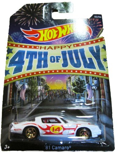 Hot Wheels - Happy 4th of July 2013 - 2/6 - '81 Camaro by Mattel (81 Camaro-modell)