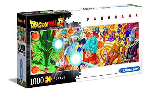 Clementoni Collection Puzzle Panorama-Dragon ball-1000 Unidades, 39486