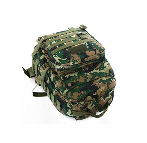 Outdoor Militär Angriff Rucksack Tarnung Wasserdicht Bergsteigen Tasche ACUcamouflage