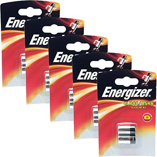 Energizer Lot de 10 Piles alcalines 4LR44A5446V