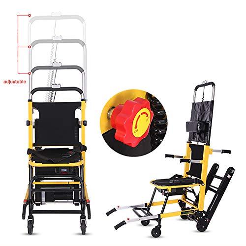 SUN RDPP Elektrorollstuhl Crawler Typ Lithiumbatterie, Rolltreppe Klettergerüst, Easy Folding Evacuation Chair, Treppenlift