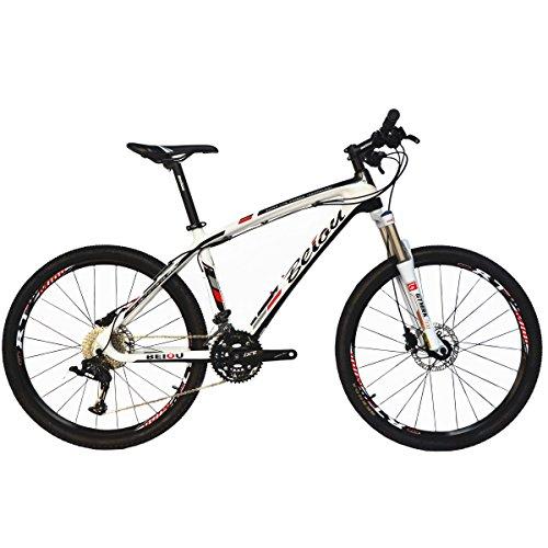 BEIOU® Carbon Mountainbike Hardtail MTB TWOO 30 Drehzahl 13kg 26