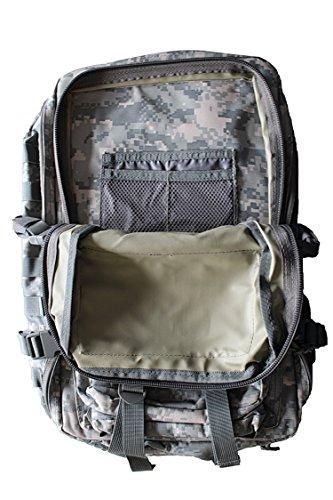 US Army Assault Pack II Zaino Uso Zaino 50LTR. Liter, Russian-Night Camo Digital Camo