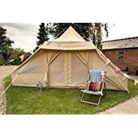 Touareg Bell Tent 5 x 4 metre with zipped in groundsheet by Bell Tent Boutique 23