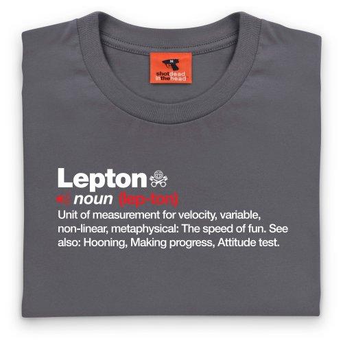 PistonHeads Lepton T-Shirt, Herren Anthrazit
