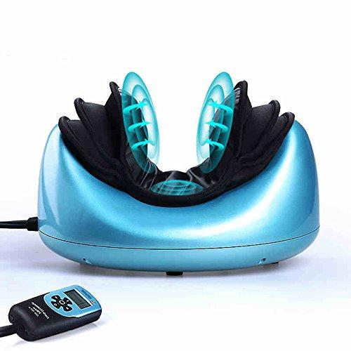 Beste Hausmassage Tiefes knetendes Nackenmassage-Kissen mit weitem Infrarot-Hitzemassager und patentiertem Luftdruck für Haus und Büro, um zervikale Schulter-Taillen-Muskel-Schmerz-Hals-Massage-Kissen zu entlasten bequeme Verwendung ( Farbe : Home use )