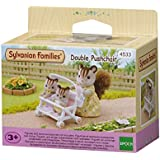 Sylvanian Families 4533 Double Pushchair, Pink