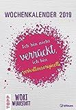 TOPP Wortwerkstatt 2019 - Wochenkalender, Wandkalender 2019 - 23,7 x 34